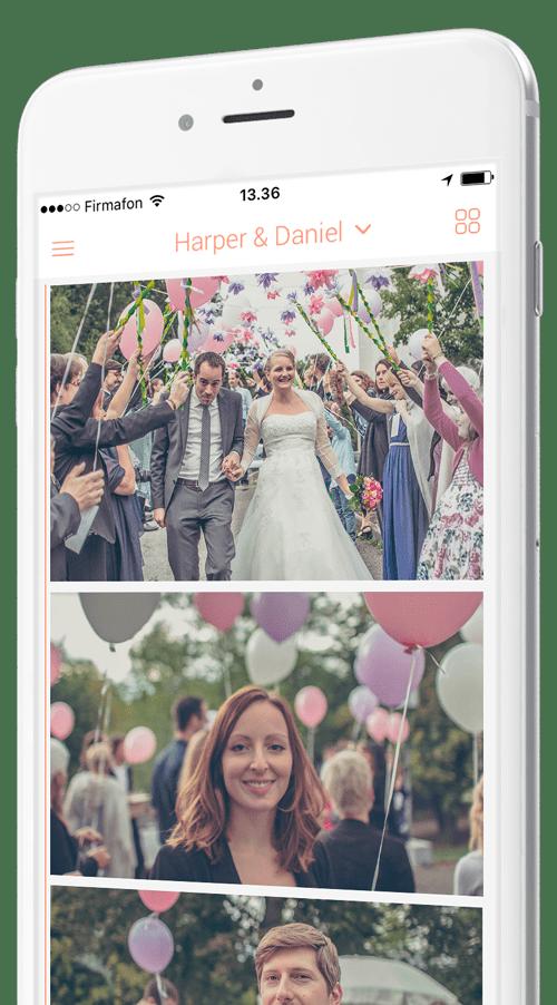 Photo-app for weddings