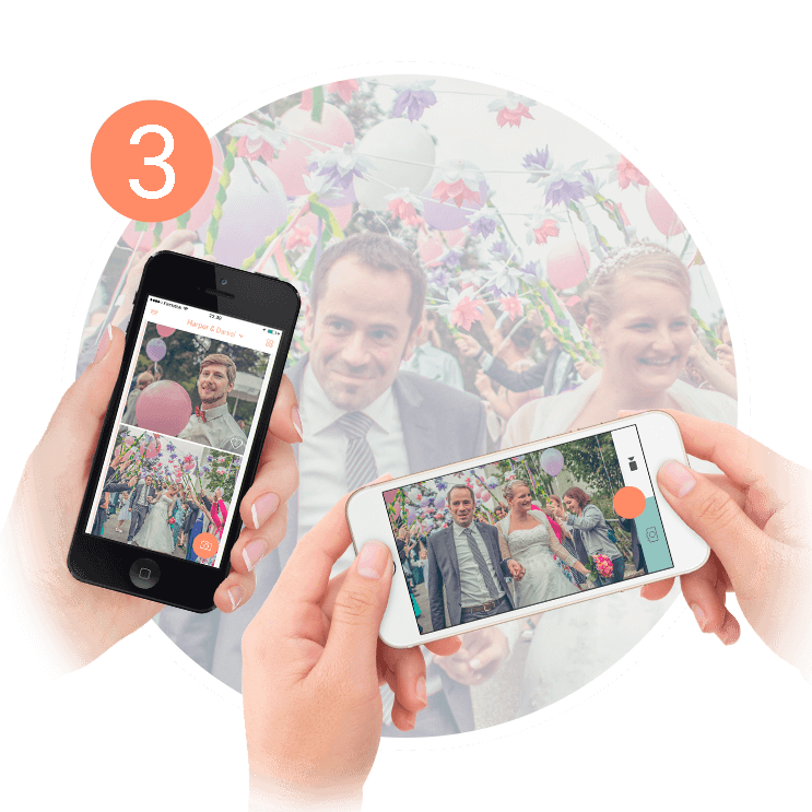 wedding app - share with your guests